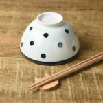 11cmドット丸茶碗