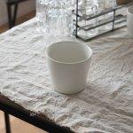 小田陶器 MINORe(みのり) カップL(手なし) クリーム