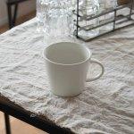 小田陶器 MINORe(みのり) カップL(手付き) クリーム