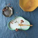 22cm松の形の前菜皿