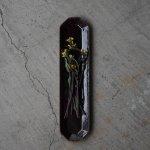 寿山窯 angle アングル 31.5cmロングプレート ブラウン