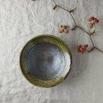 16cm織部櫛目平鉢