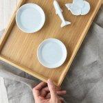 8cm白青磁豆皿