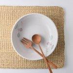 小春 布目20.5cm丸鉢