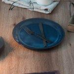 北欧ブルー 深ブルー 27cmプレート