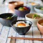 asumi(彩澄) なじみ茶碗 鉄黒
