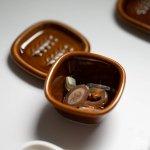 深山(miyama.) crust-クラスト- スクエアカップセット 飴釉