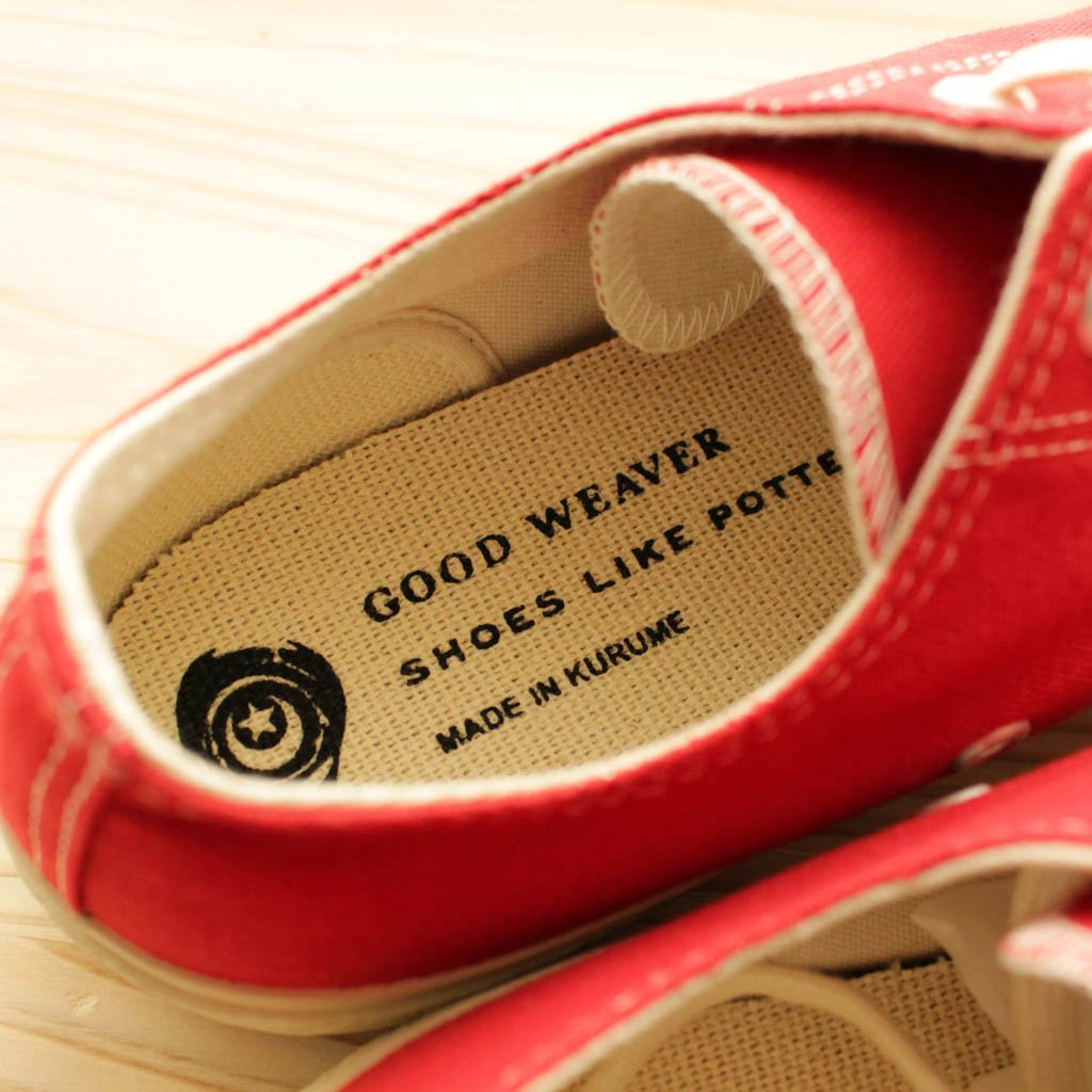 SHOES LIKE POTTERY | シューズライクポタリー GW SHOES LIKE POTTERY #red/natural dye