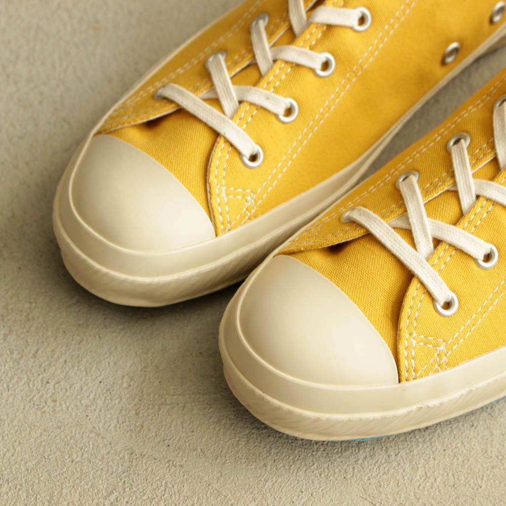SHOES LIKE POTTERY | シューズライクポタリー GW SHOES LIKE POTTERY #MUSTARD/NATURAL DYE [S.L.P.01 GW]