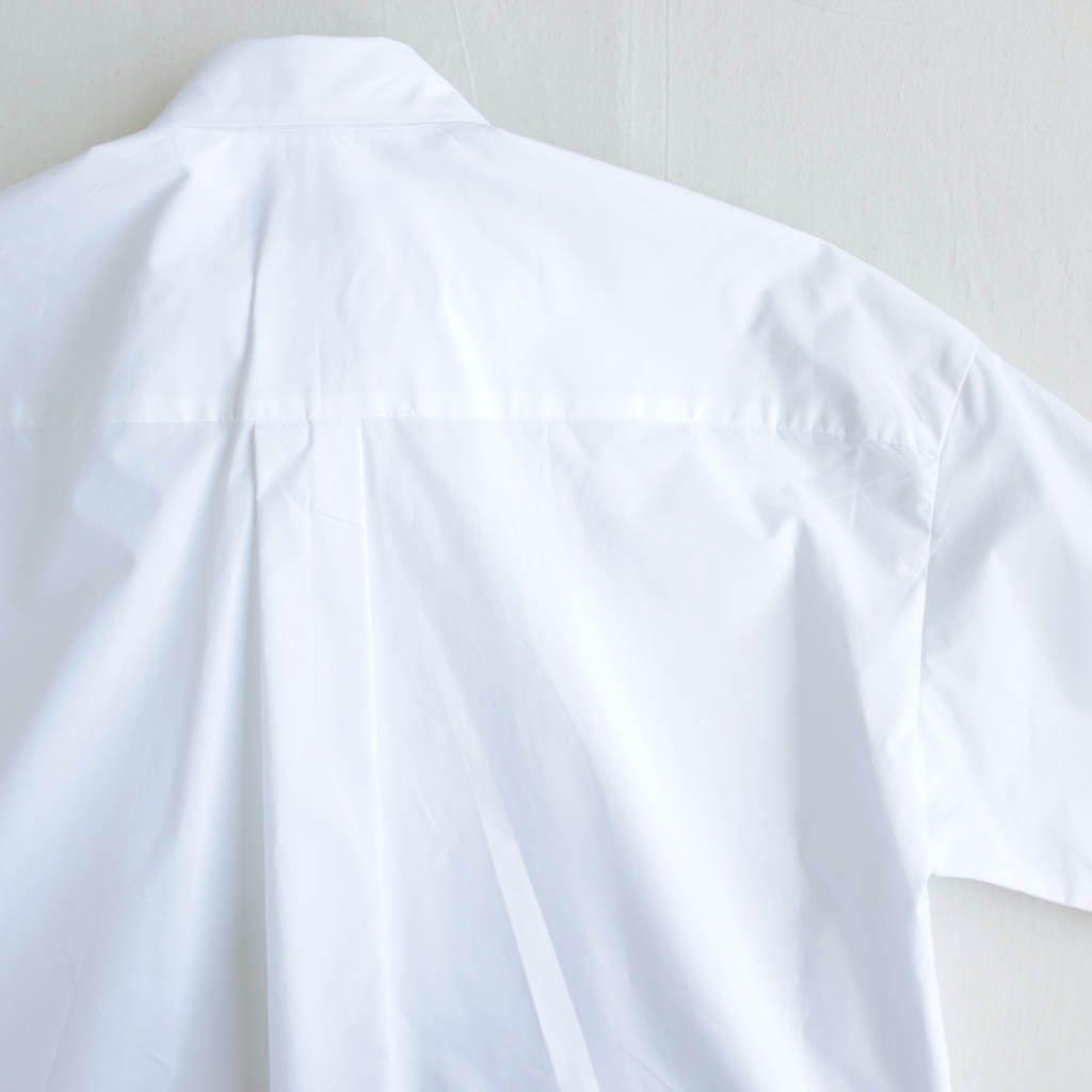Graphpaper | グラフペーパー Typewriter S/S Shirt #white