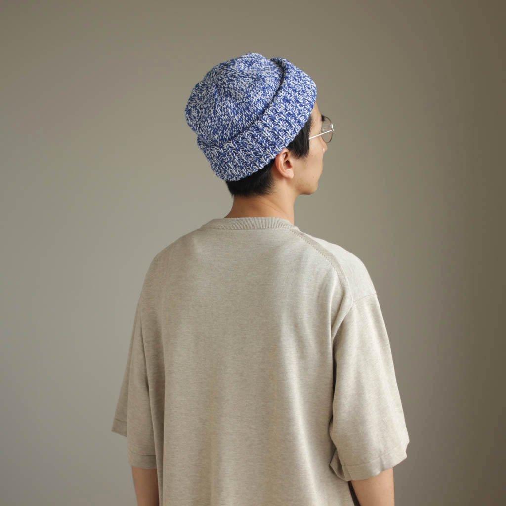 crepuscule | クレプスキュール Knit Cap #blue mix