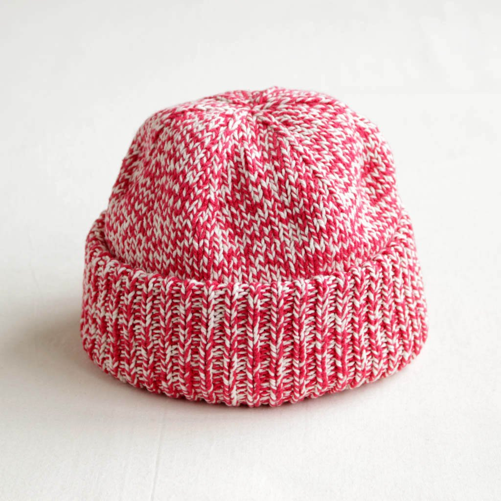 crepuscule   クレプスキュール Knit Cap #red mix