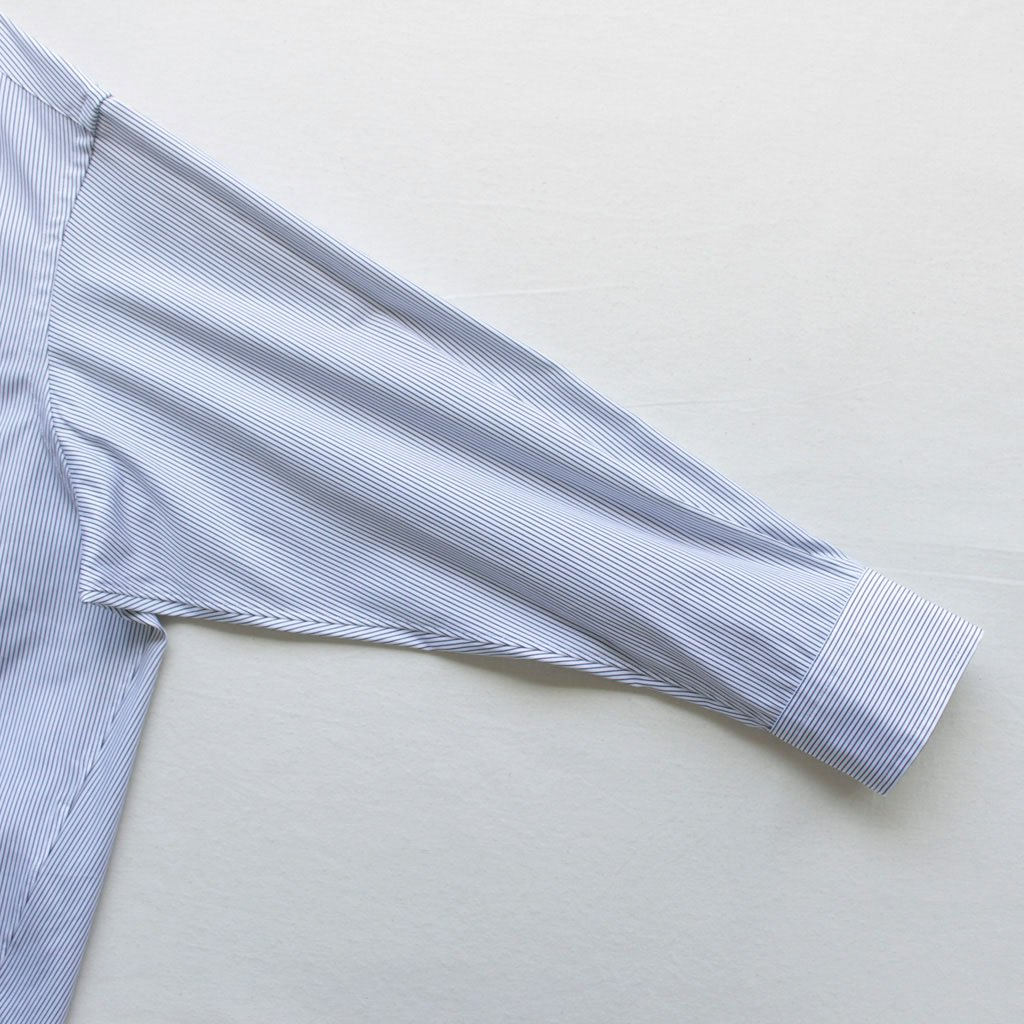 TICCA | ティッカ スクエアビッグシャツP/O #PENCIL STRIPE [TAGA-302-02]