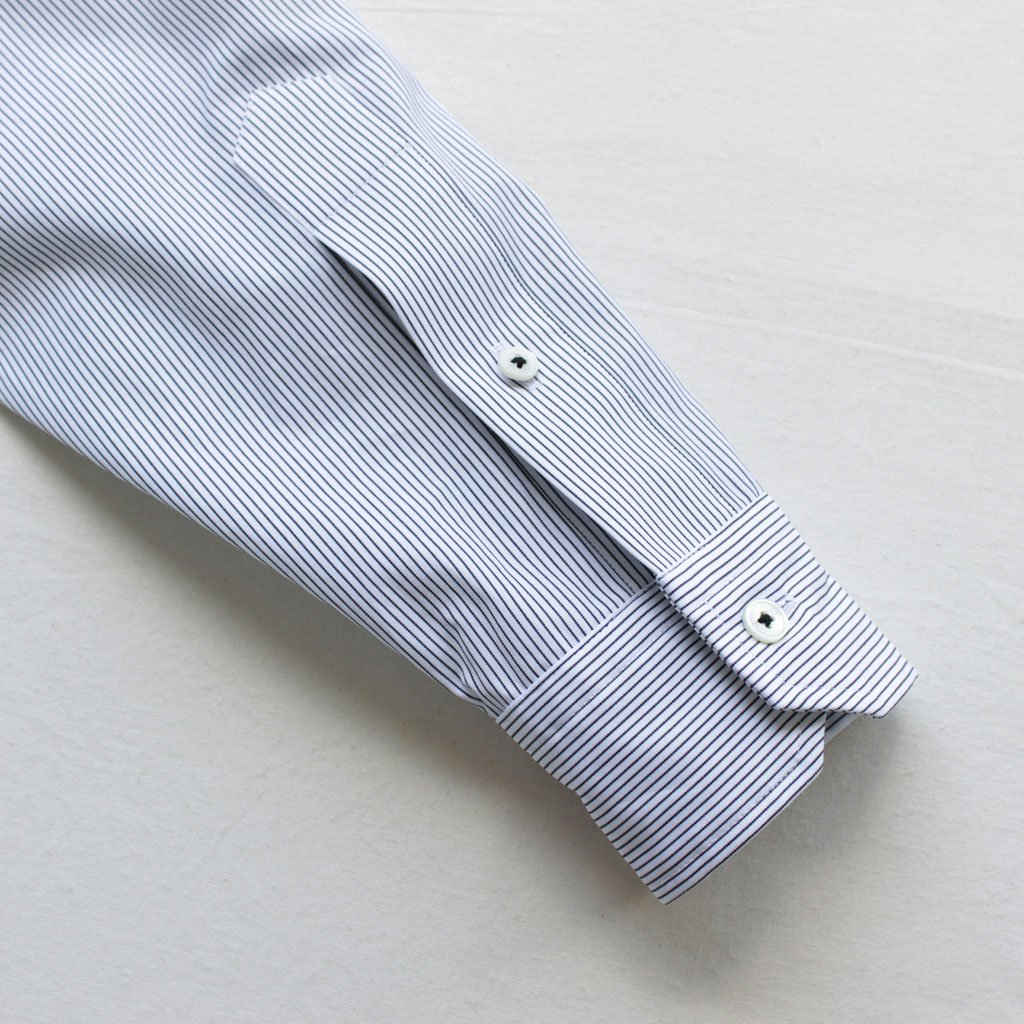 TICCA   ティッカ スクエアビッグシャツP/O #pencil stripe