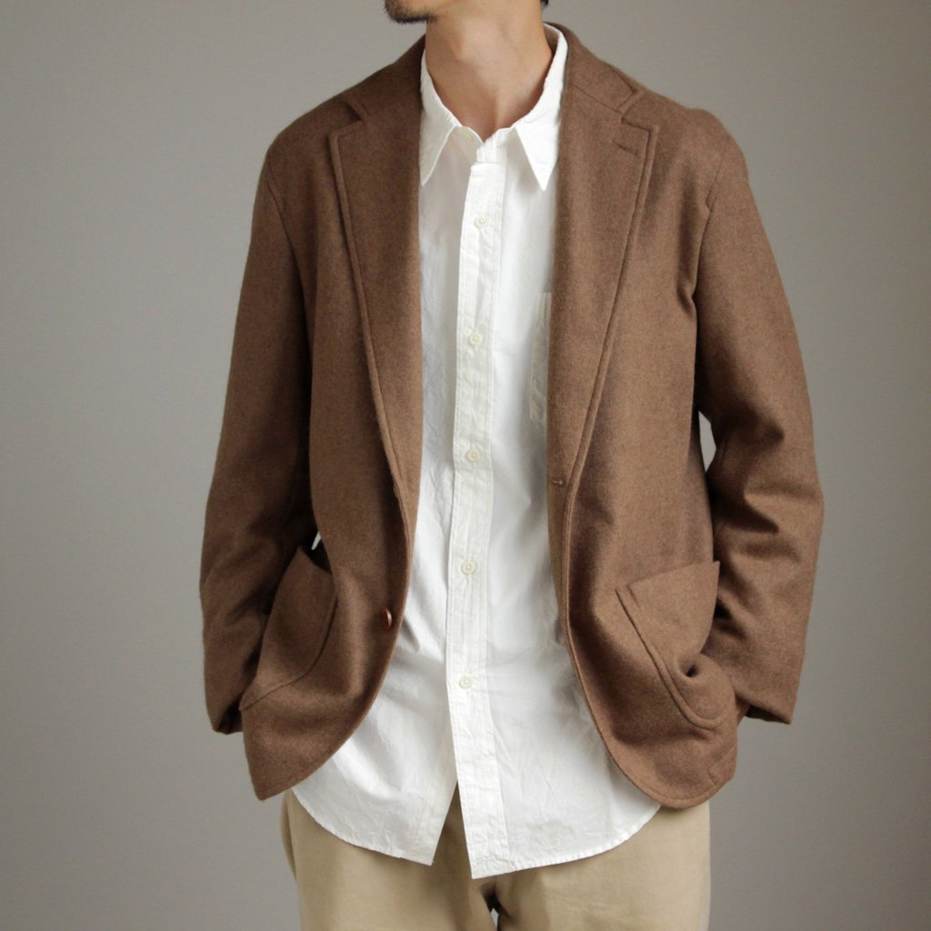 AURALEE | オーラリー BABY CAMELHAIR FLANNEL JACKET #camel