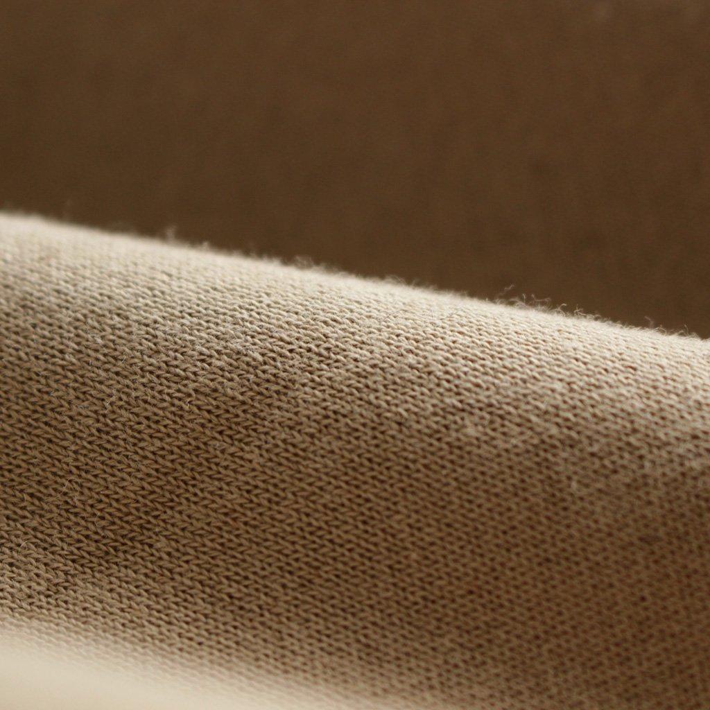 AURALEE | オーラリー BACK WOOL SWEAT HALF ZIP P/O #beige