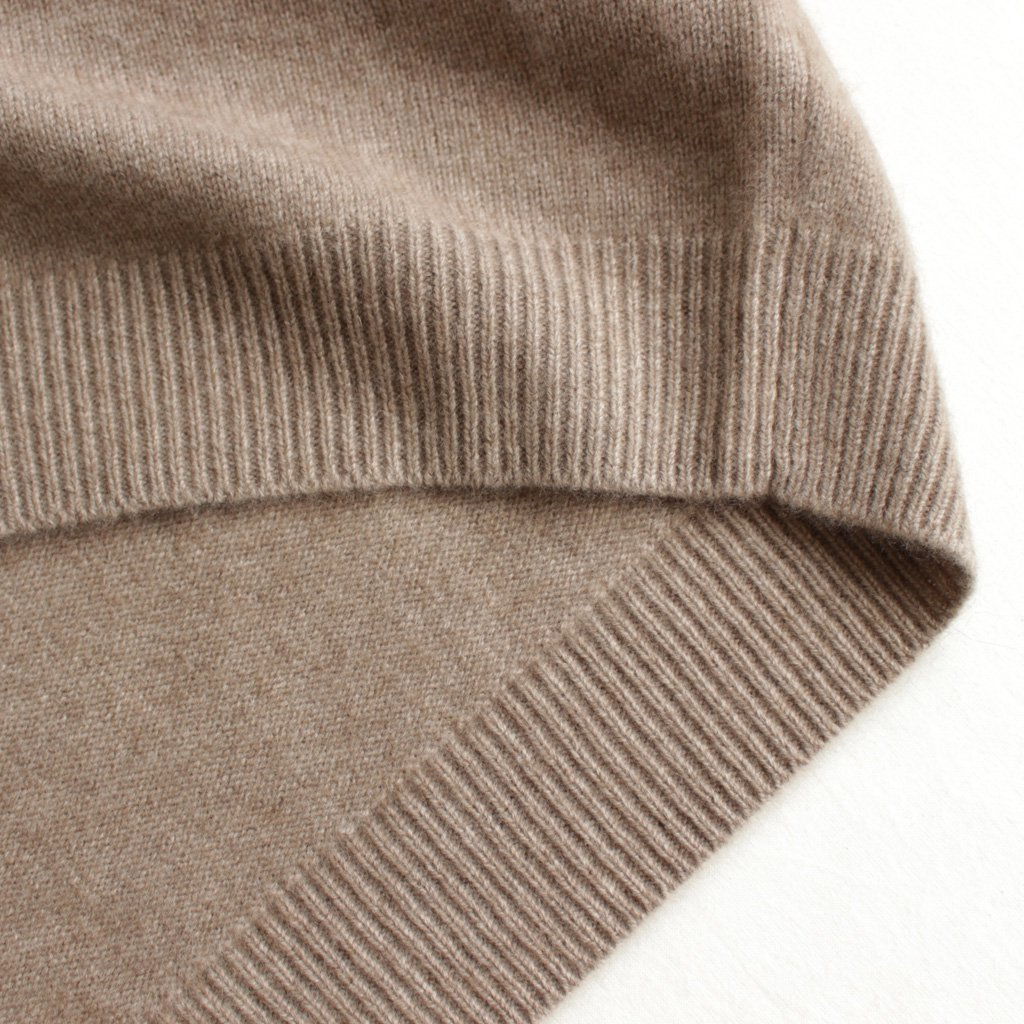 AURALEE | オーラリー BABY CASHMERE KNIT TURTLE NECK P/O #natural brown