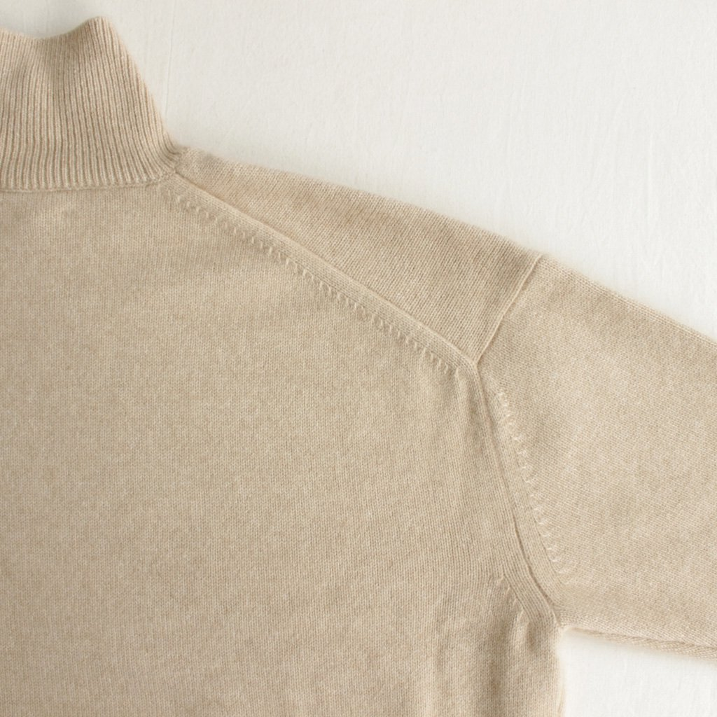 AURALEE | オーラリー BABY CASHMERE KNIT TURTLE NECK P/O #natural beige