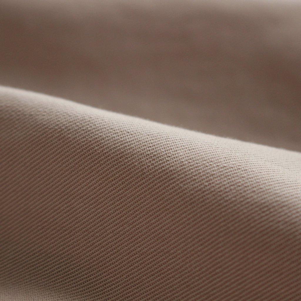 NO CONTROL AIR | ノーコントロールエアー NDSPO|フィブリルテンセルツイルドルマンスリーブVネックP/Oシャツ #ECRU BEIGE [A7-N065PO]