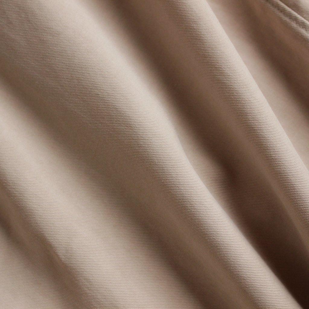 NO CONTROL AIR | ノーコントロールエアー NLSNS|フィブリルテンセルツイルノーカラーセミワイドシャツ #ECRU BEIGE [A7-N061SF]