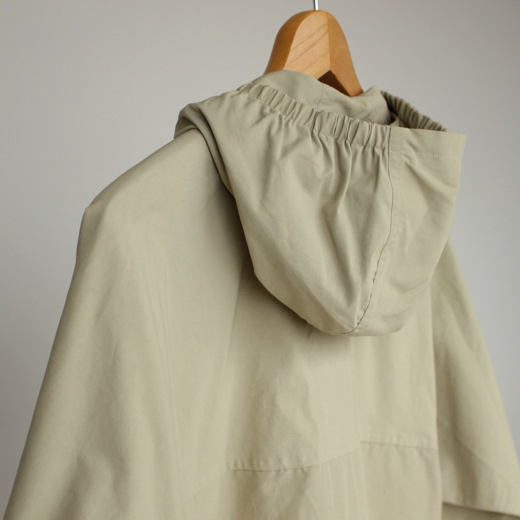 60/40 CLOTH HOODED SHIRT - LONG #BEIGE [174107]