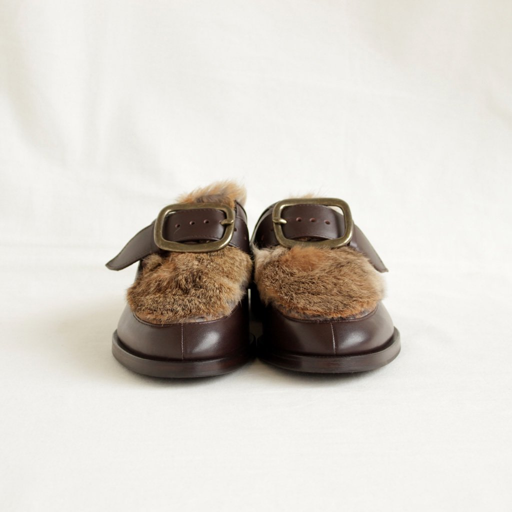CLASP MULE #DARK BROWN [ct-s-cmu]