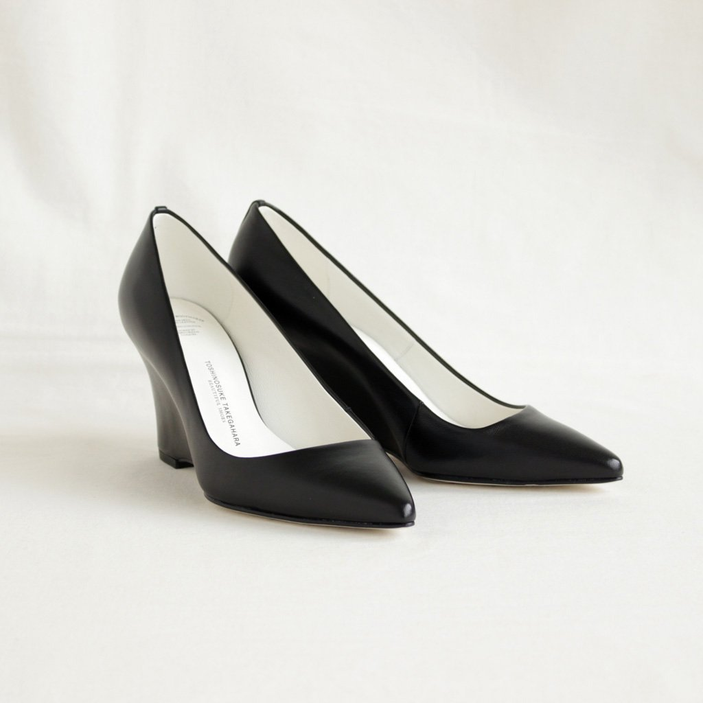 BEAUTIFUL SHOES | ビューティフルシューズ HIGH POINTED MONOCROME #BLACK [BSS1712005]