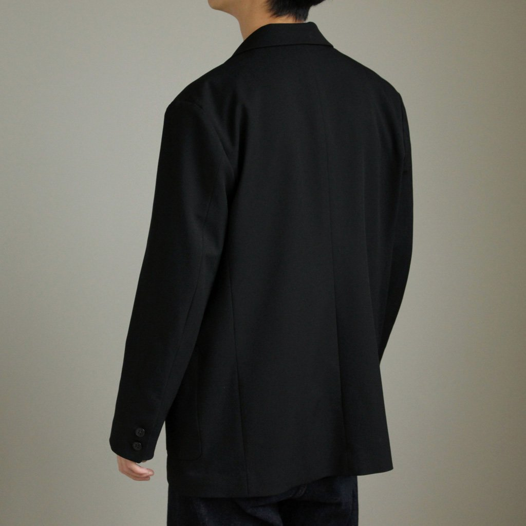 YAECA | ヤエカ 2WAY 2B JACKET #BLACK/SET UP [57352]
