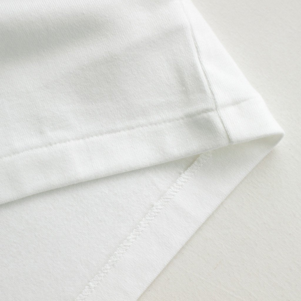 BASQUE SHIRT - WIDE SHORT&POCKET #WHITE [87060]