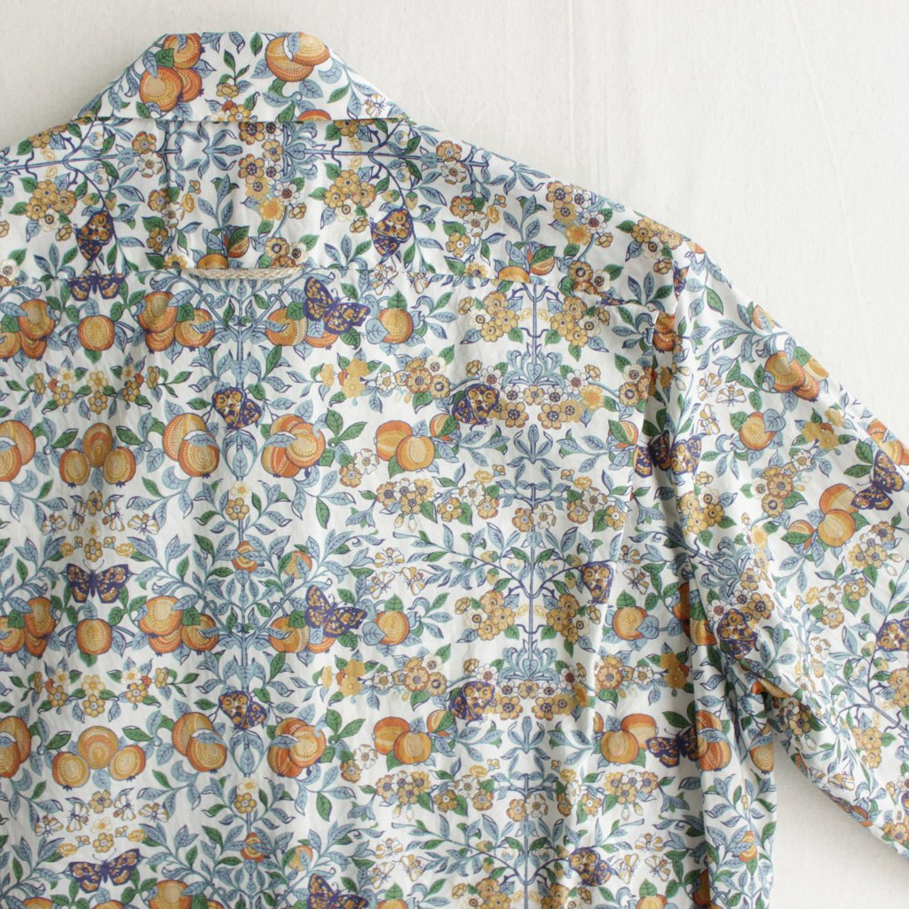 BUTTON SHIRT #ORCHARD/LIBERTY [97151]