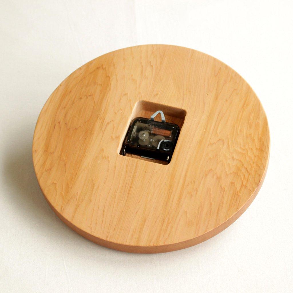 CHEESE CLOCK #RED CEDAR [LSCD1-004]