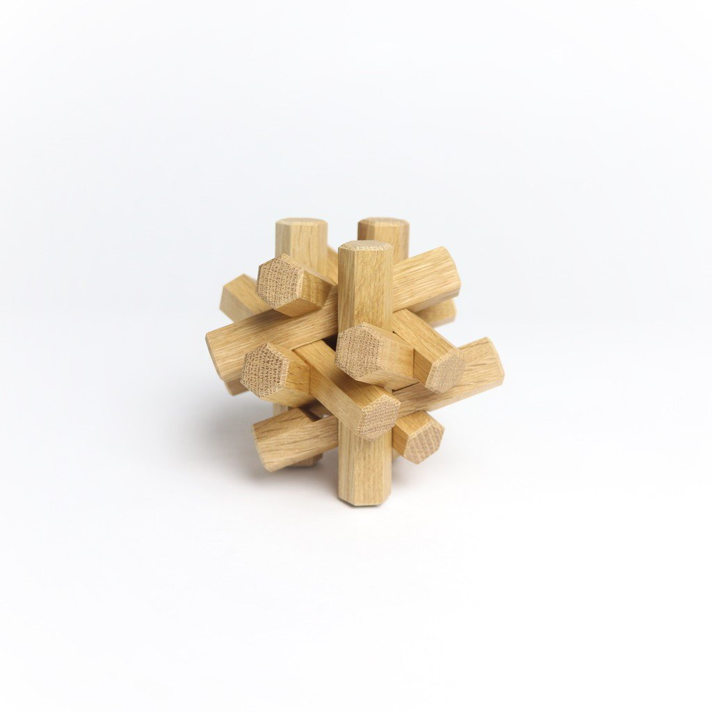 BRAID WOOD OAK 12PIECE [SK1-001-12P]