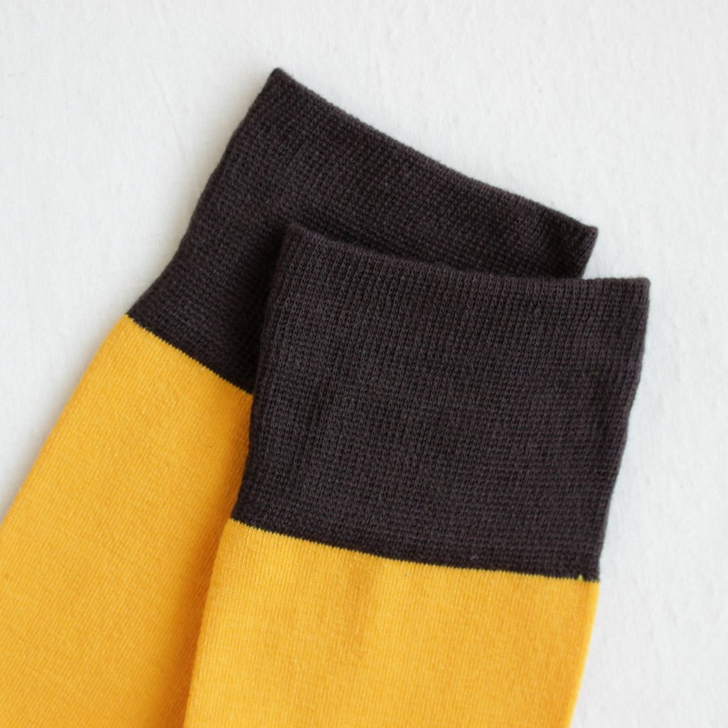 TWO TONE #YELLOW×DARK BROWN [CH-001]
