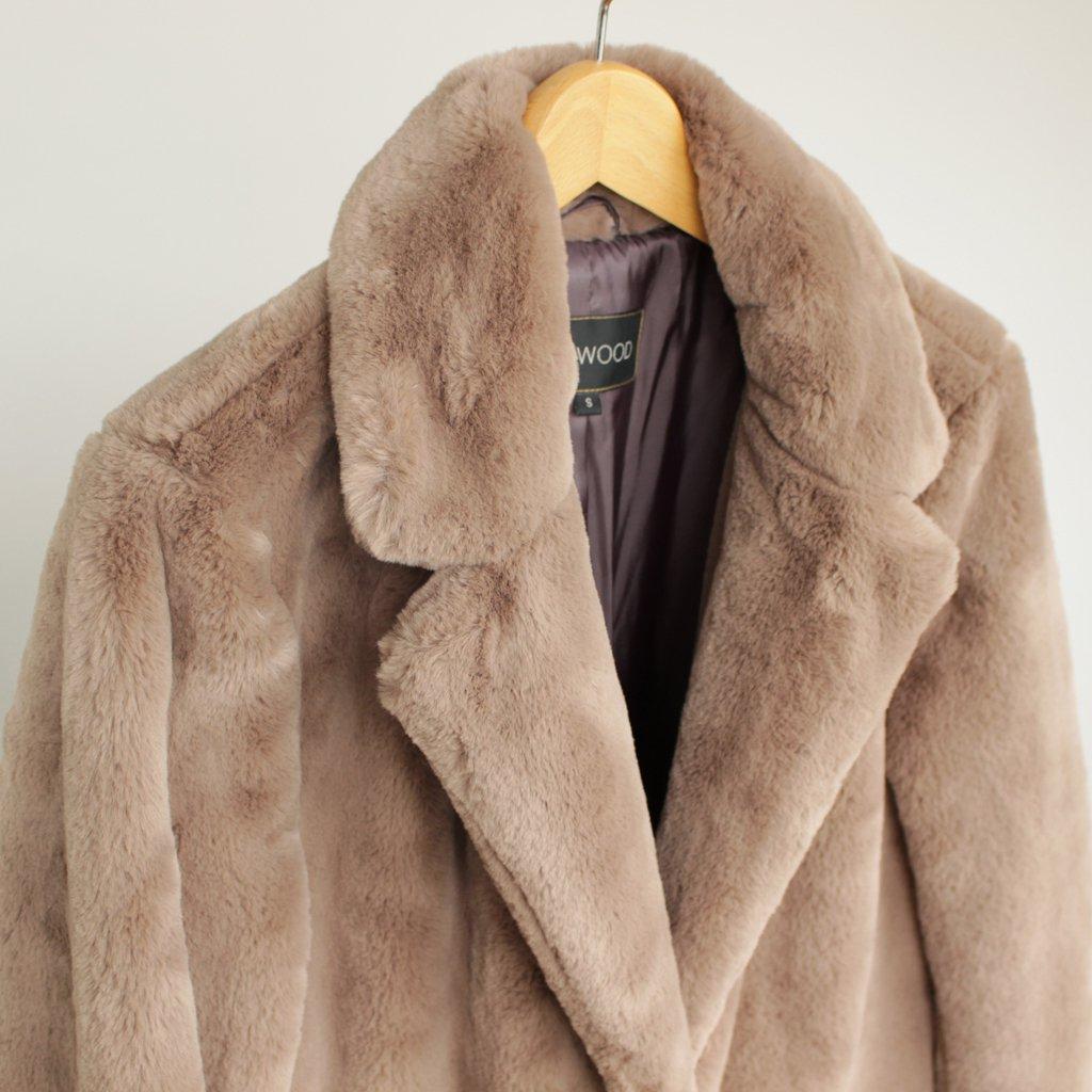 AVA LONG COAT #BEIGE [700063697]