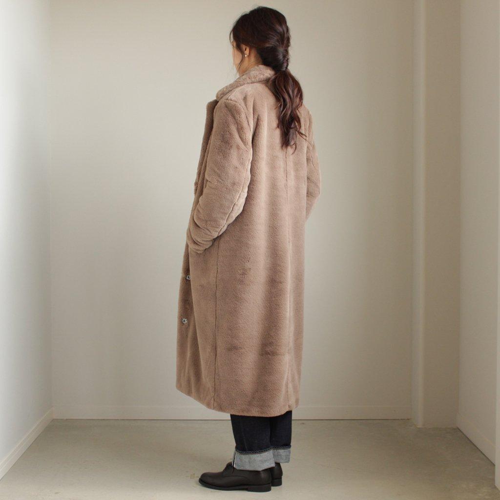セレクト - ふく AVA LONG COAT #BEIGE [700063697]
