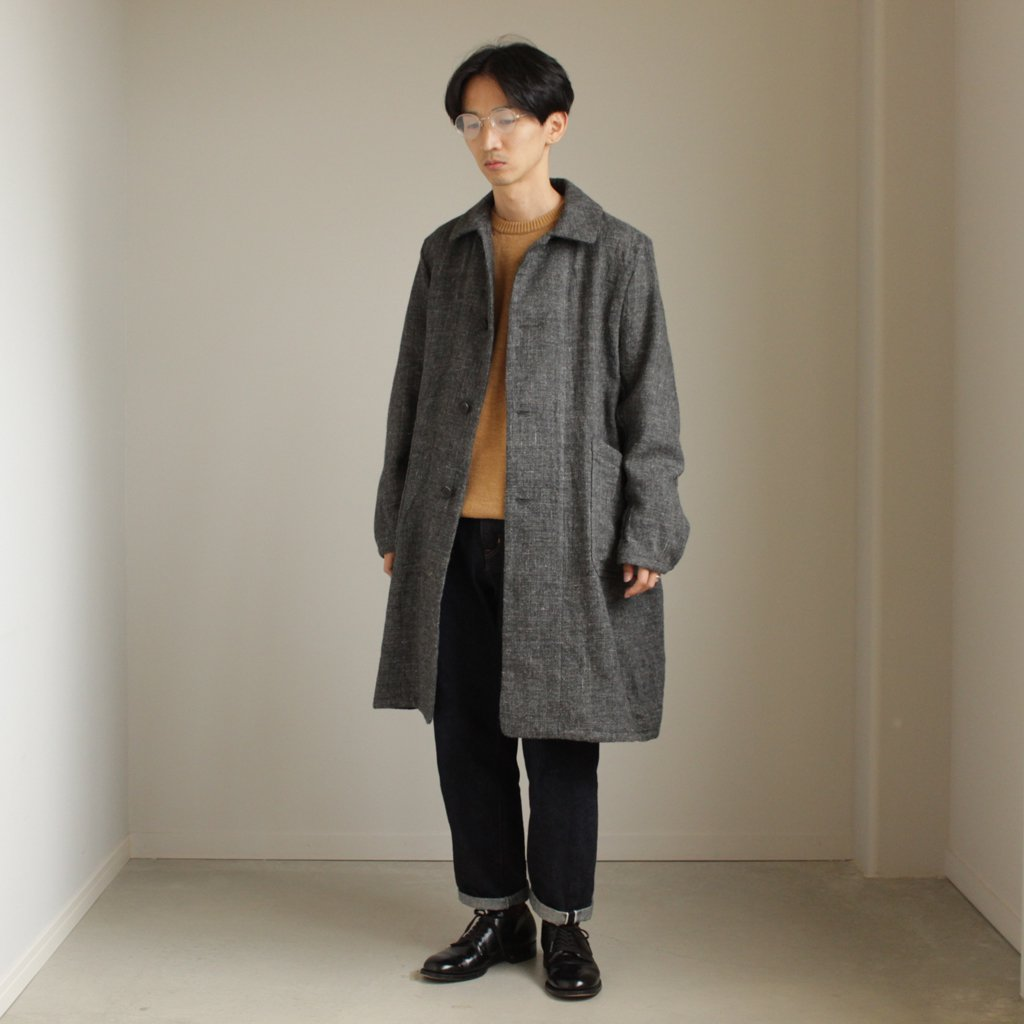 A LINE DUSTER COAT #GRAY [47551]