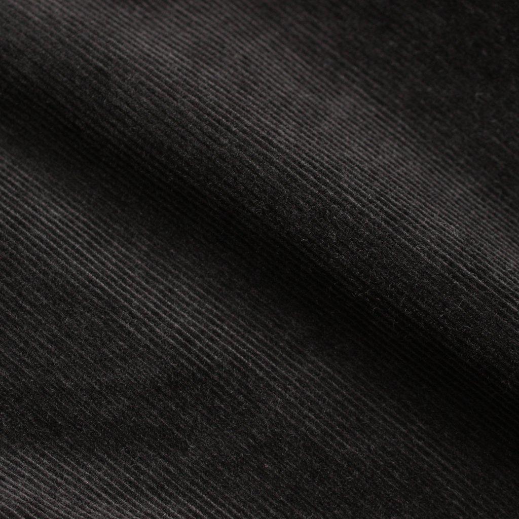 BAGGY #BLACK CORDUROY [gj-type01-baggy]