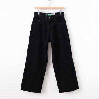 TYPE-01 / BAGGY #black corduroy _ gourmet jeans   グルメジーンズ