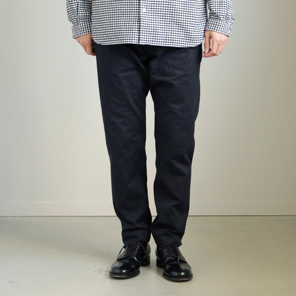 CHINO CLOTH PANTS - STANDARD #D.NAVY [17653]