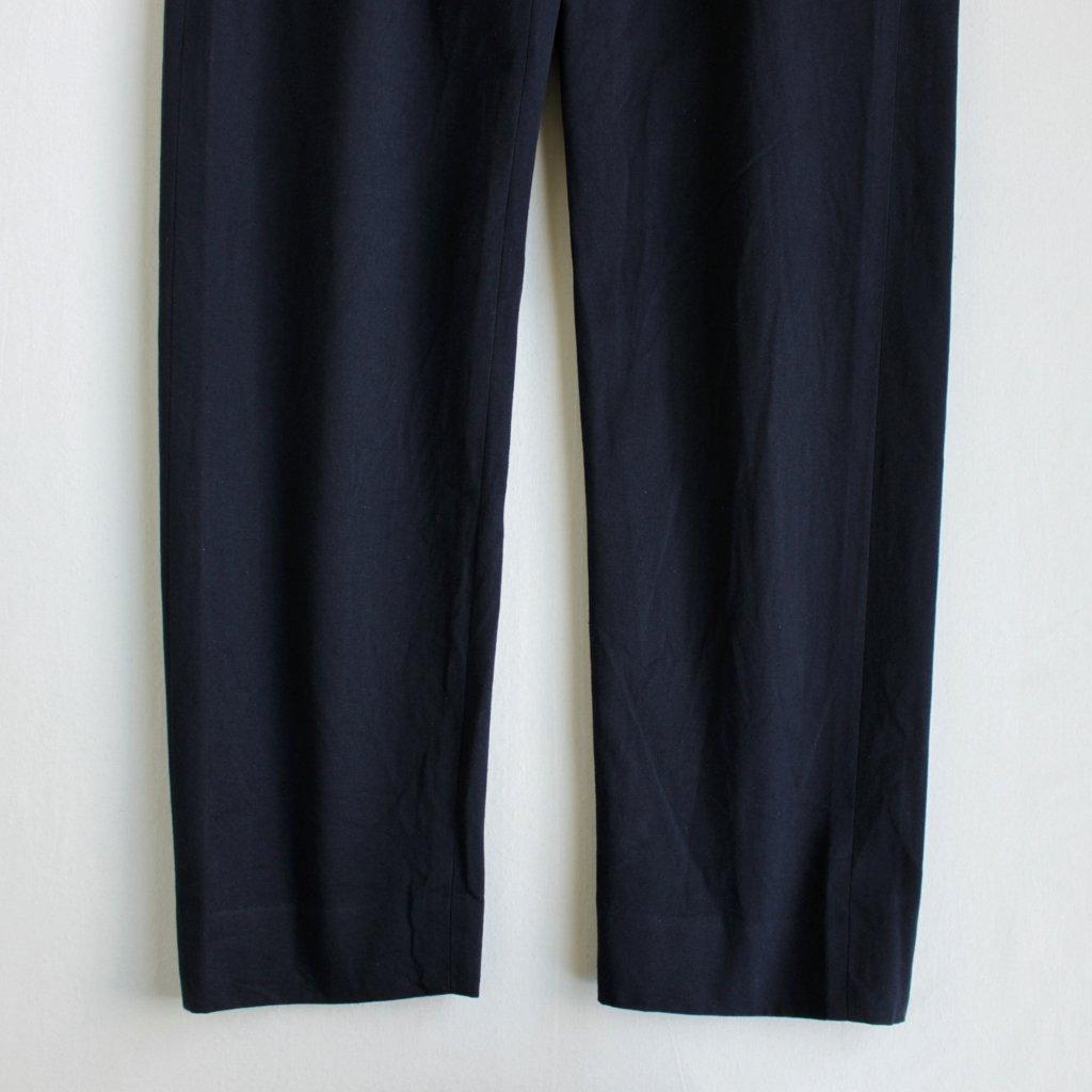 YAECA | ヤエカ CHINO CLOTH PANTS - STANDARD #D.NAVY [17653]