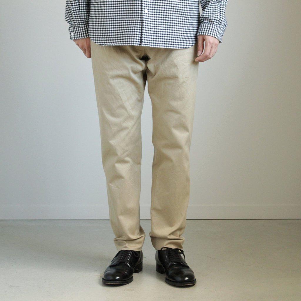 CHINO CLOTH PANTS - STANDARD #KHAKI [17653]