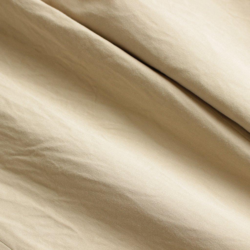 CHINO CLOTH PANTS - STANDARD #BEIGE [17653]