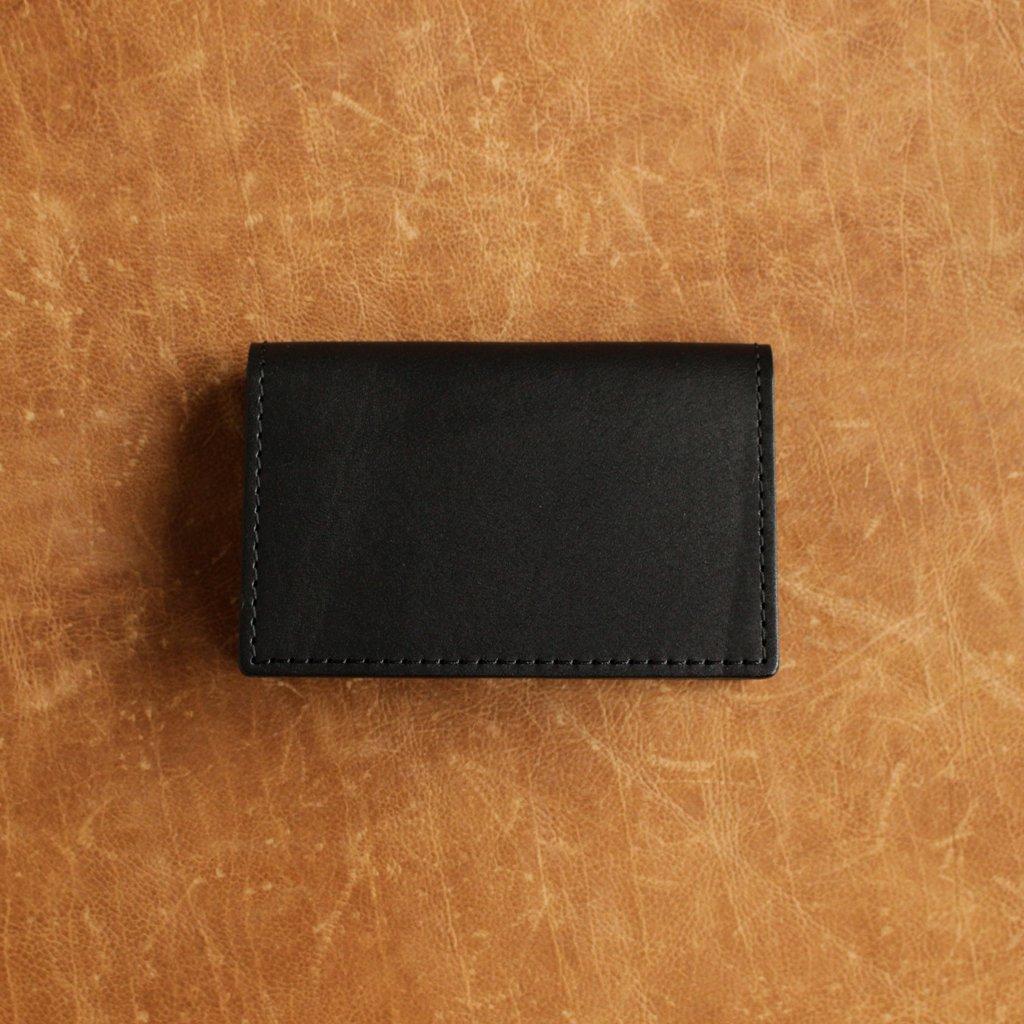 Hender Scheme | エンダースキーマ FOLDED CARD CASE #BLACK [bs-rc-fcc]