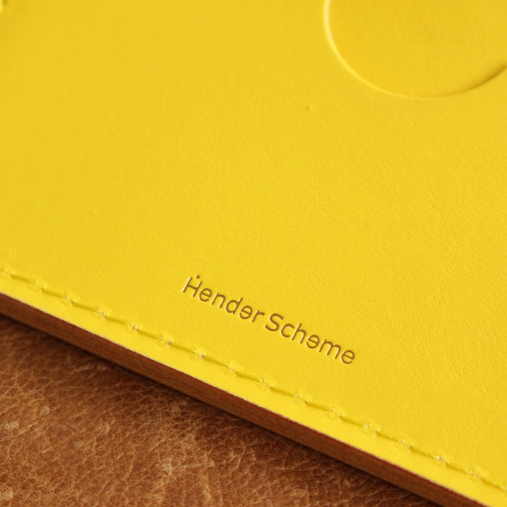 FOLDED CARD CASE #YELLOW [bs-rc-fcc]