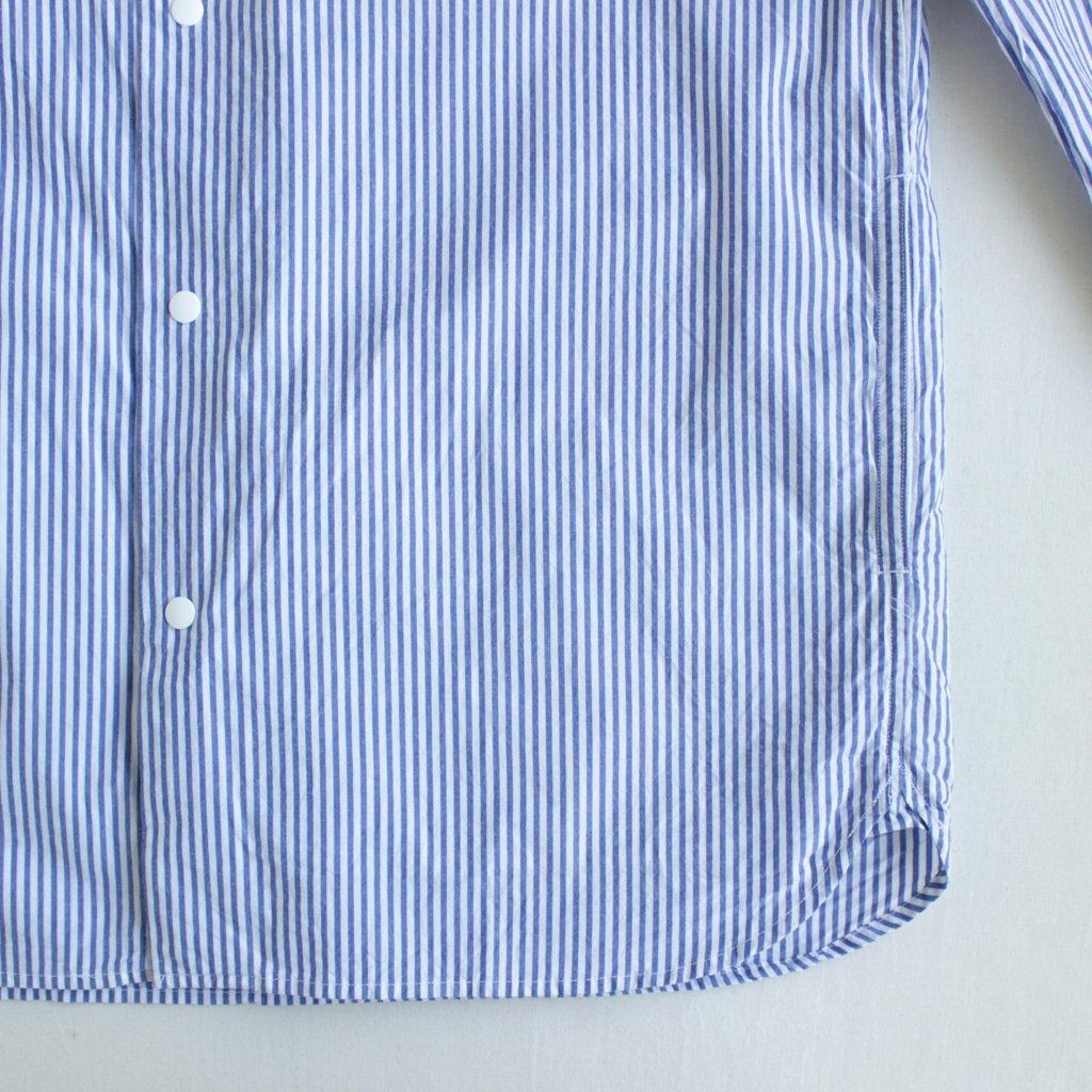 YAECA | ヤエカ COMFORT SHIRT - STANDARD #BLUE STRIPE [17152]