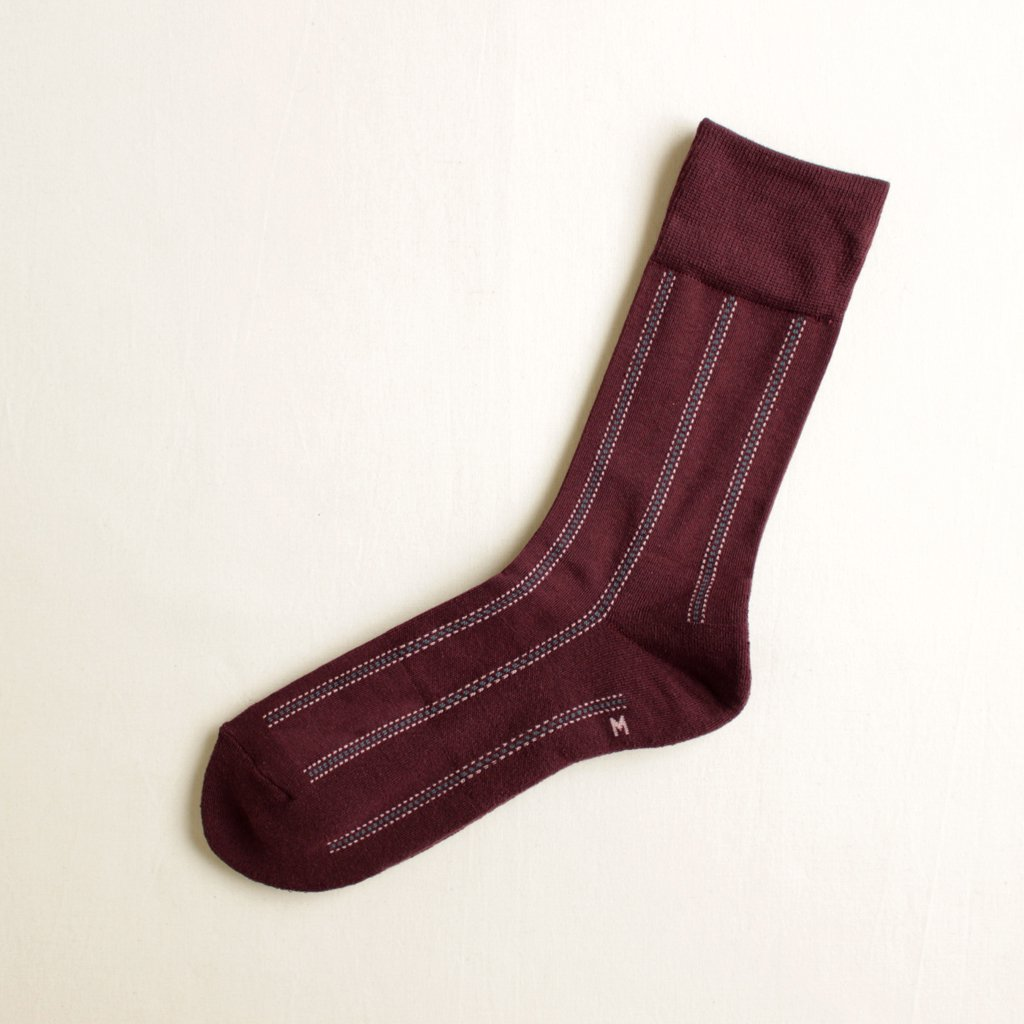 DOTTED LINE #BURGUNDY [CH-004]