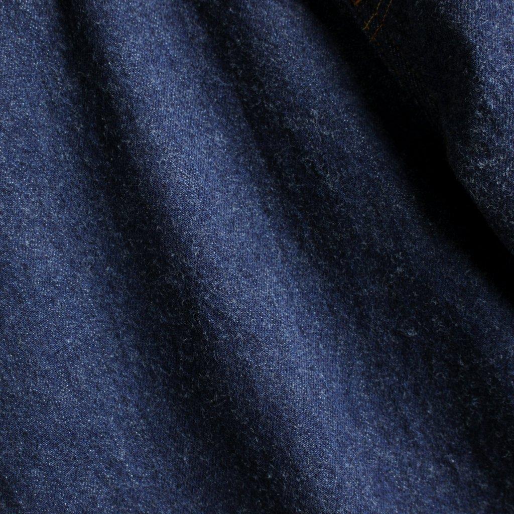 YAECA | ヤエカ DENIM PANTS - WIDE STRAIGHT #INDIGO/13oz ONE WASH [13-13WW]