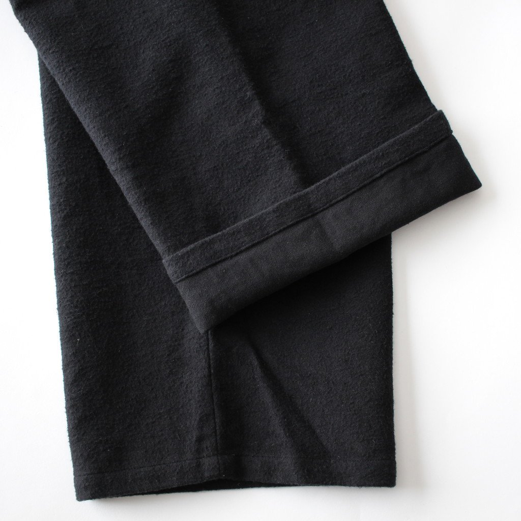 YAECA | ヤエカ CINCH BACK PANTS #BLACK [47655]