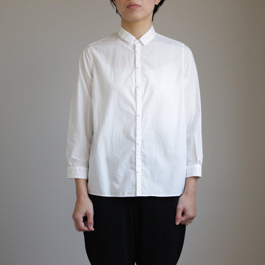 NO CONTROL AIR   ノーコントロールエアー NCCSH 60/-コンパクトコットンライトタイプライター スモールカラーシャツ #WHITE [S8-NC011SF]