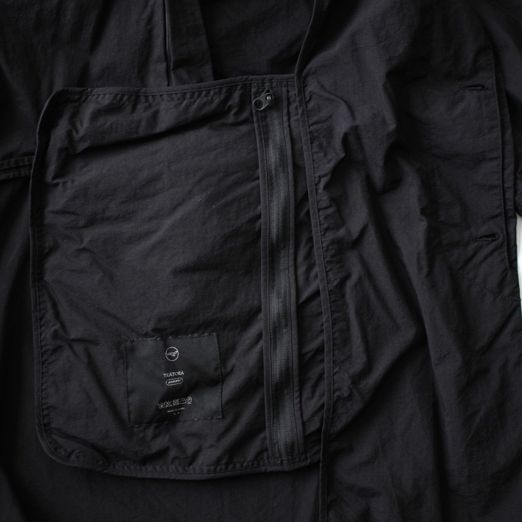TEATORA | テアトラ DEVICE COAT PACKABLE3.0 #BLACK [tt-102-P]